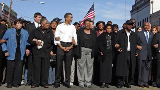 Obama Selma 2007